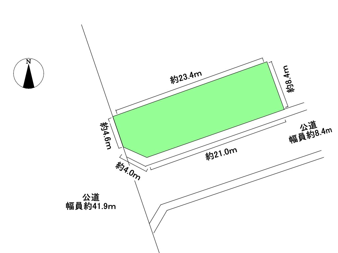 清須市春日白弓 土地 北区画