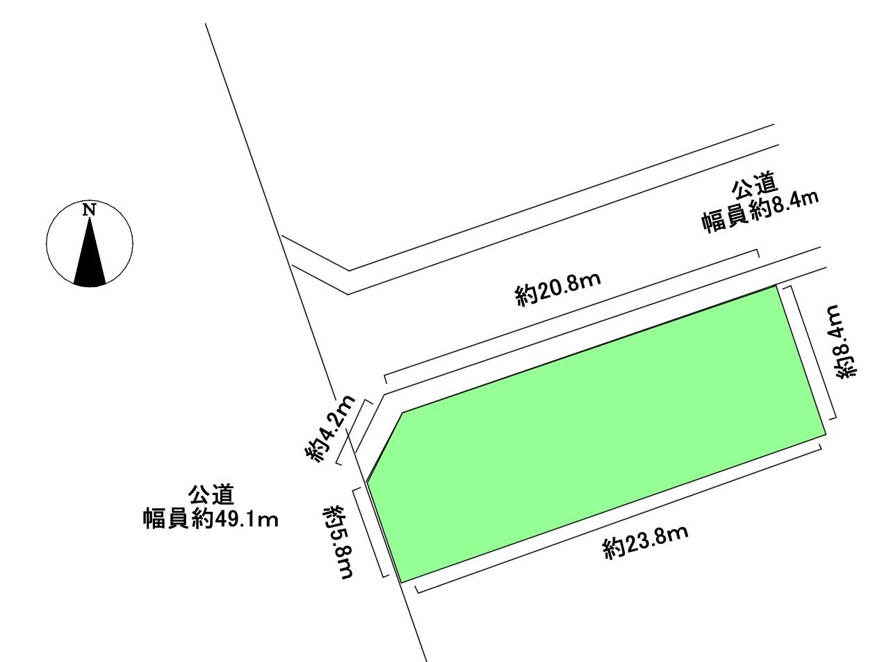 清須市春日白弓 土地 南区画